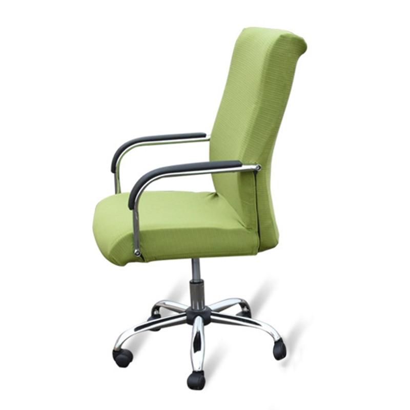 Sitzbezüge Für Computer Stühle Elastische Büro Stuhl Abdeckung Stretch  Sessel Abdeckt Moderne Esszimmer Stuhl Protector Schutzhülle
