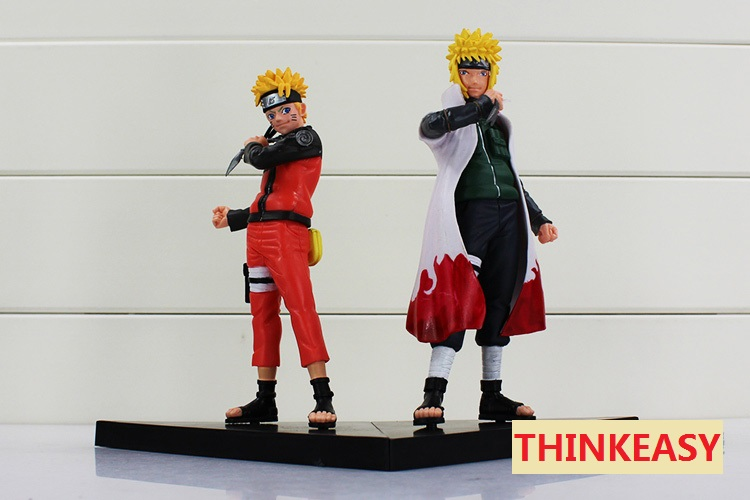 2 Pcs/set 18 cm Cool Naruto Action Figures Anime Classic Kids Toys Naruto Sasuke Madara Action Figure for Decoration Collection 2 pcs set 18 cm 7 cartoon the last naruto