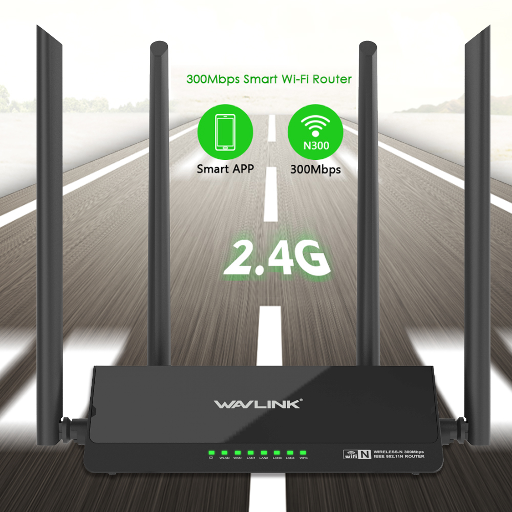 Wavlink 300Mbps Wireless Wifi Router Smart Repeater Access