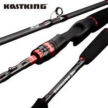 KastKing Макс стальная Удочка углеродное спиннинговое Литье удочка с 1,80 м 1,98 м 2,13 м 2,28 М удочка для приманка для щуки