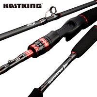 KastKing Максимальная сталь Сверхлегкая спиннинговая Удочка с 1,80 м 1,98 м 2,13 м 2,28 м приманка Литье удочка для озеро, речная Рыбалка