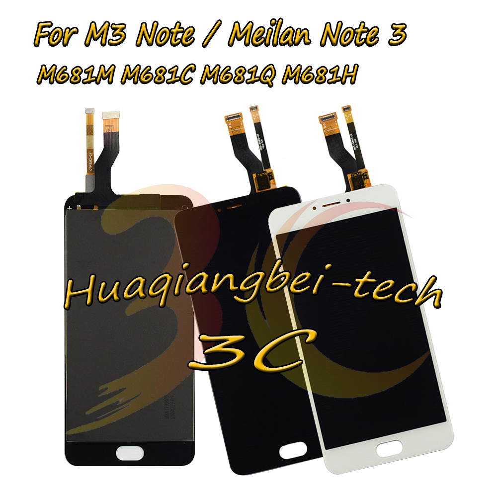 5.5 New For Meizu M3 Note / Meilan Note 3 M681M M681C M681Q M681H Full LCD DIsplay + Touch Screen Digitizer Assembly