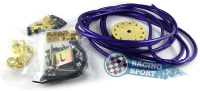 Grounding Cable Wire Kit Purple High Quality Circle Earth System Grounding Cable Hot Sale 450cm
