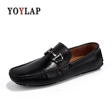 Luxury Brand 2018 Spring Microfiber Mens Shoes Casual Red Black Flat Casual  Shoes Men Slip- b13e7f3b0911