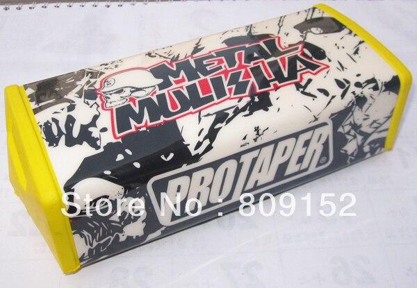 1-1/8 Square Fat Handlebars Pad For PROTAPER Metal Mulisha MOTOCROSS FAT BAR MX ATV Dirt Bike HANDLEBAR PAD