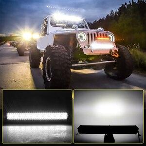 Image 5 - שיתוף אור 12D 3 שורה 22 32 42 50 52 אינץ LED בר 12V 24V ספוט מבול קרן Led רכב נהיגה בר אור Offroad 4x4 משאיות לאדה SUV