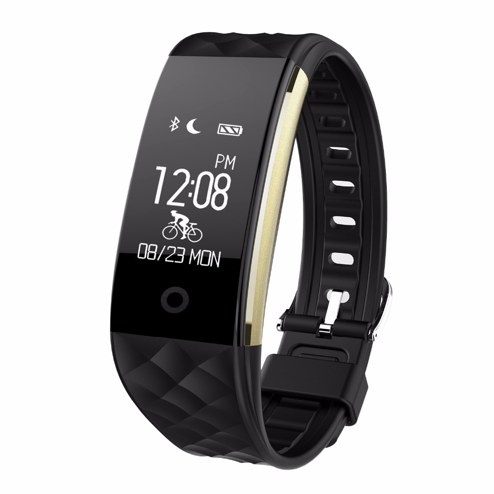 Bluetooth 4 0 S2 Smart Wristband Band Heart Rate Monitor Sport Waterproof Smartband Bracelet For Android