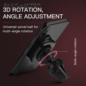 Image 4 - HOCO Support magnétique de téléphone portable de voiture Support magnétique prise dair Support 360 degrés GPS Support de Smartphone pour iPhone Samsung