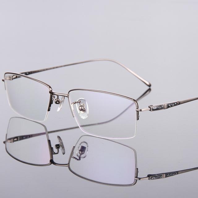 ALTA Qualidade Ultraleve de Titânio Puro Óculos de Miopia armações de Óculos de Prescrição TG9024 Laboratório Óptico Frete Grátis