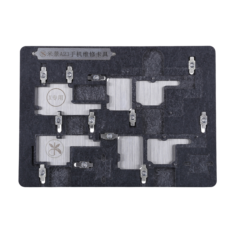 Newest Motherboard PCB Holder Jig Fixture Work Station for iPhone X Circuit Board CPU IC Chip Repair Tool Hand Tool