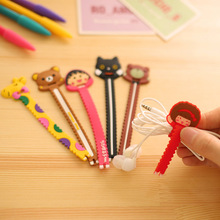 Lovely Cartoon animal short Cable Winder Wire Organizer Wire Holder Sawtooth Shape For Earphone&cables