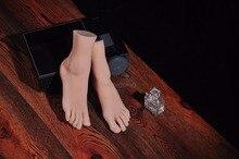 Реальная кожа секс куклы японский мастурбация полный размер силиконовой жизнь поддельные ноги фут фетиш игрушки сексуальные игрушки женский ног модели
