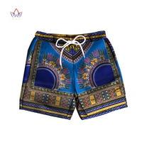 Men Short Pants Dashiki 100% Cotton African Print Short Pants Clothes Customized Beach Short Pants African Style Clothing WYN614