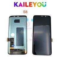 Оригинальный S8 ЖК дисплей Замена для SAMSUNG Galaxy S8 G950 G950F Дисплей S8 плюс G955 G955F Сенсорный экран планшета