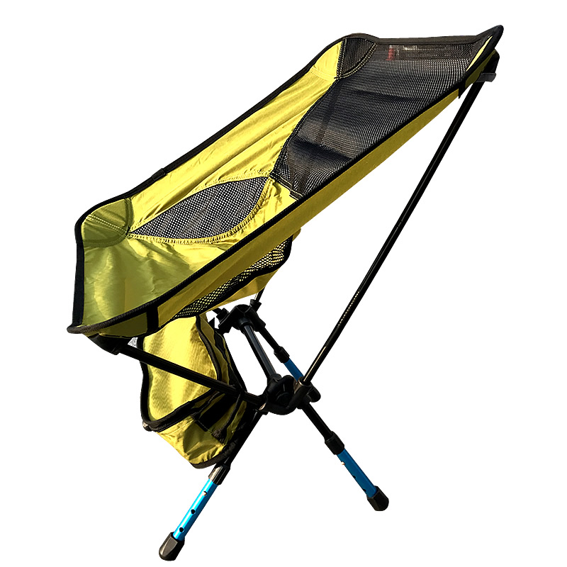 Adjustable Height Portable Chair Outdoor Fishing Folding Camping Seat  Foldable Chair Seat For Fishing Festival Picnic BBQ Beach