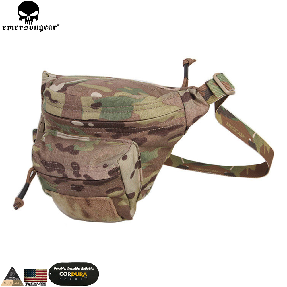 Emerson Hunting Waist Bag Tactical Wargame Outdoor Bag Multi function RECON Waist Bag EM9176
