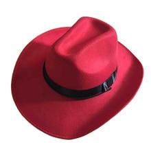 2018 Novo Verão de Alta Qualidade Corda Ajustável Feminino Masculino Tampas  de Estilo Ocidental Novo Chapéus De Cowboy Cowgirl 0b271d8b537