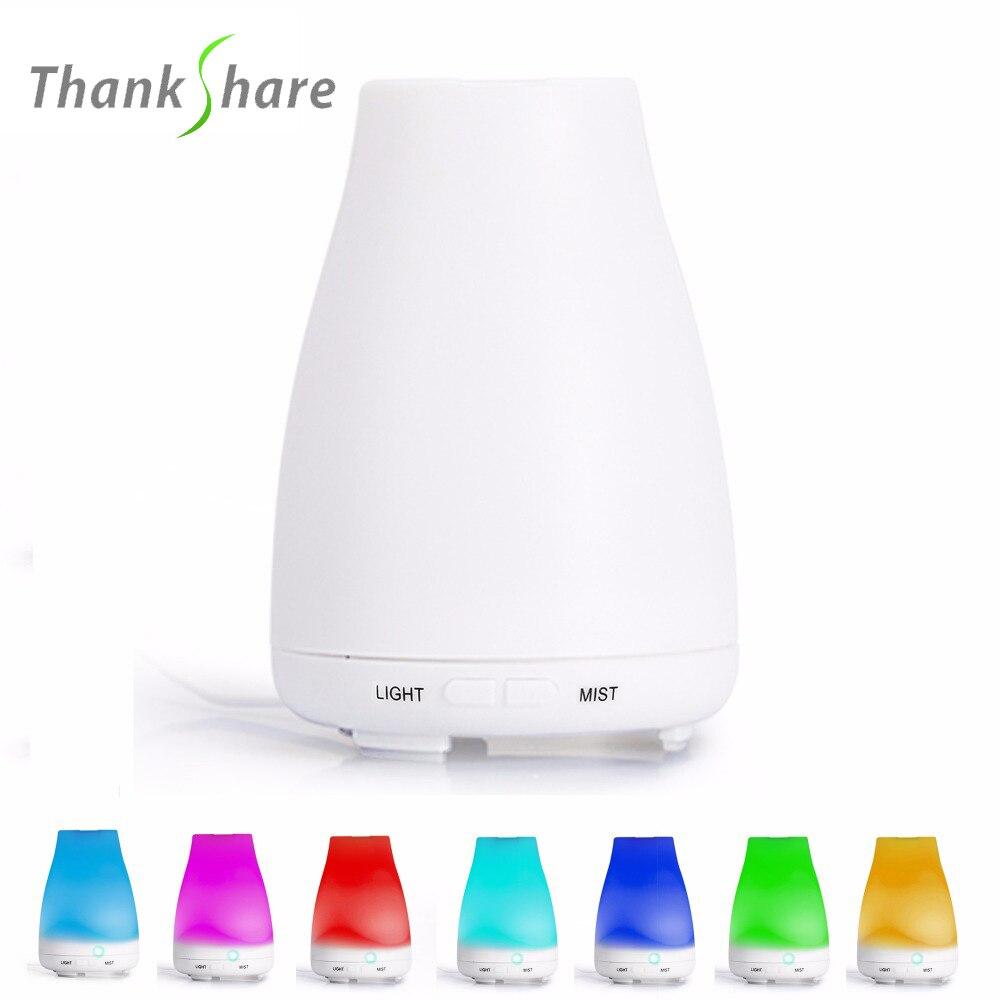 Umidificatore ad ultrasuoni Aroma Diffusore Aromaterapia Humidificador Para Diffuseur Huile Essentiel Fogger LED Cambia Colore Per SPA