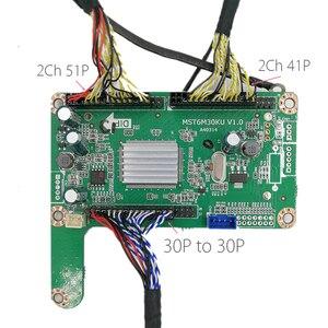Image 5 - Pour 4K FHD LED TV 60hz 120HZ panneau lvds câble 41p + 51p 2CH pour carte led de contrôle v56 MST6M30KU V1.0