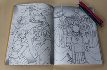 One Piece Secret Garden Coloring Book