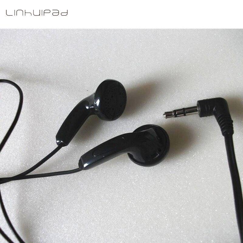 Linhuipad одноразовый черный дешевый наушник отдайте вкладыши для тренажерных залов, больница для библиотеки 3000 шт./партия