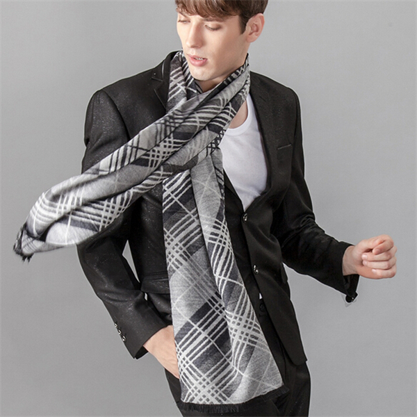 British Plaid Scarf Luxury Brand Classic Winter Scarf Warm Soft Shawl Wrap Long Scarf Men Scarves Jacquard Weave Jd10073 To Clear Out Annoyance And Quench Thirst Apparel Accessories