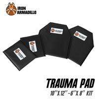 AA Shield Bullet Proof Soft Panel Body Armor Inserts Plate Aramid Core Self Defense Supply NIJ