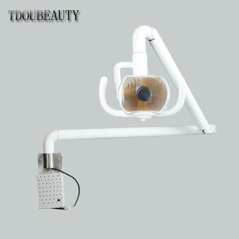 2020 TDOUBEAUTY Super 50W Hanging Halogen Lamp Surgical Exam Light Shadowless Lamp Pet Surgery Dental Department Free Shipping фото