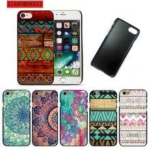 940510fdf5d Mandala Flower Datura Floral Clear hard plastic Cover Case For Apple  iphoneX 8 8PLUS 4 4s 5 5s SE 5c 6 6S 6PLUS 7 7PLUS