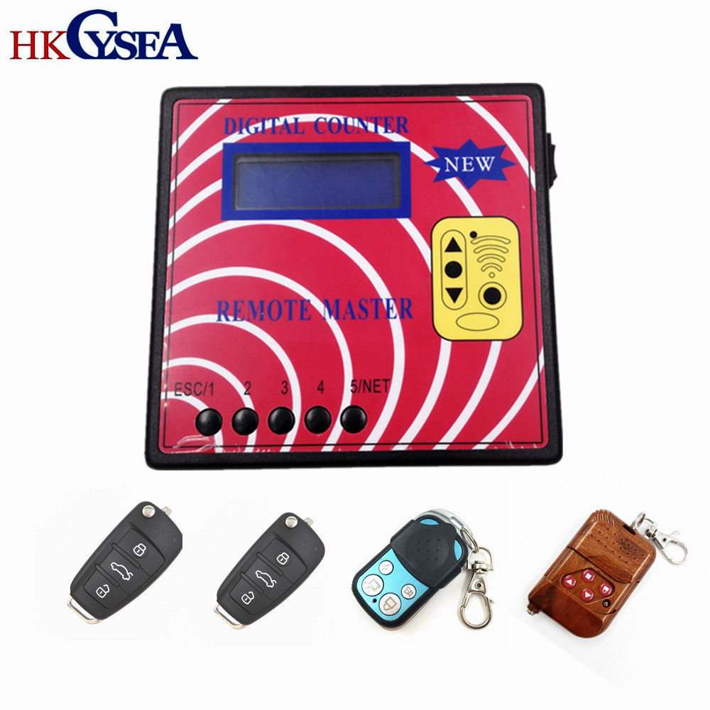 HKCYSEA Computer Remote Control Copying Machine Digital Counter Remote Master With 4pcs Fixed Code Model A