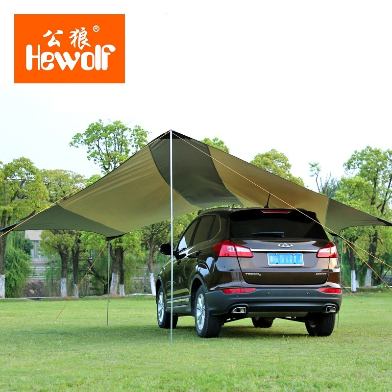 Outdoor Waterproof Awning Canopy Ultralarge Sun-shading Beach Tent Shade-Shed Camping Tent Sun Shelter Garden Tent 5*5*2.5meters yp100120 100x120cm 100x240cm 100x360cm prefab homes roof top tent polycarbonate sheet plastic shed overehead doorawning