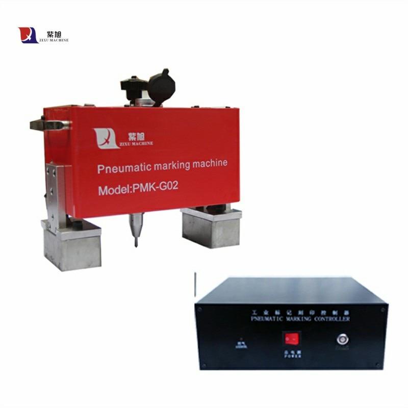 Pin Marking Machine Pneumatic Qr Code Handheld Metal Dot Peen Marking Machine 110V/220V