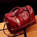 Hot Selling Women PU Leather Handbag Tote Shoulder Bags Large Capacity Weave Bags F207