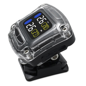 Image 5 - M3 B Wireless Motorcycle TPMS Real Time Tire Pressure Monitoring System Universal 2 External Internal Sensors LCD Display