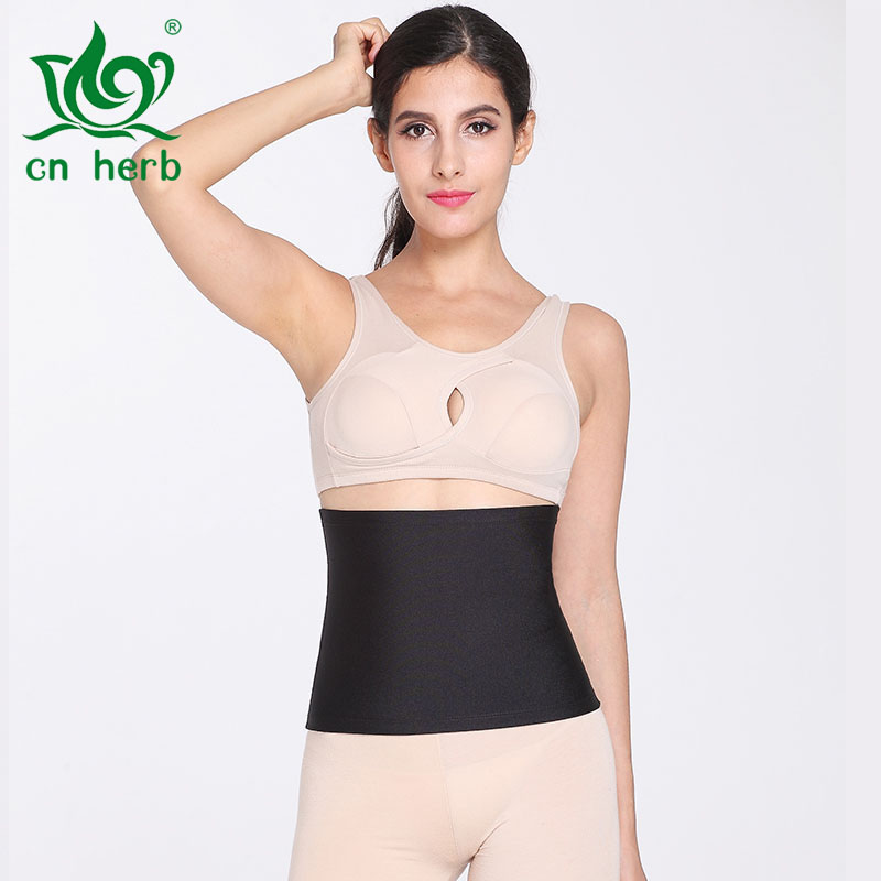 Cn Herb Women 39 s Exercise Sweating Slimming Yoga Fitness Waistband Body Waist Abdomen Sweating With P272 in Slimming Product from Beauty amp Health
