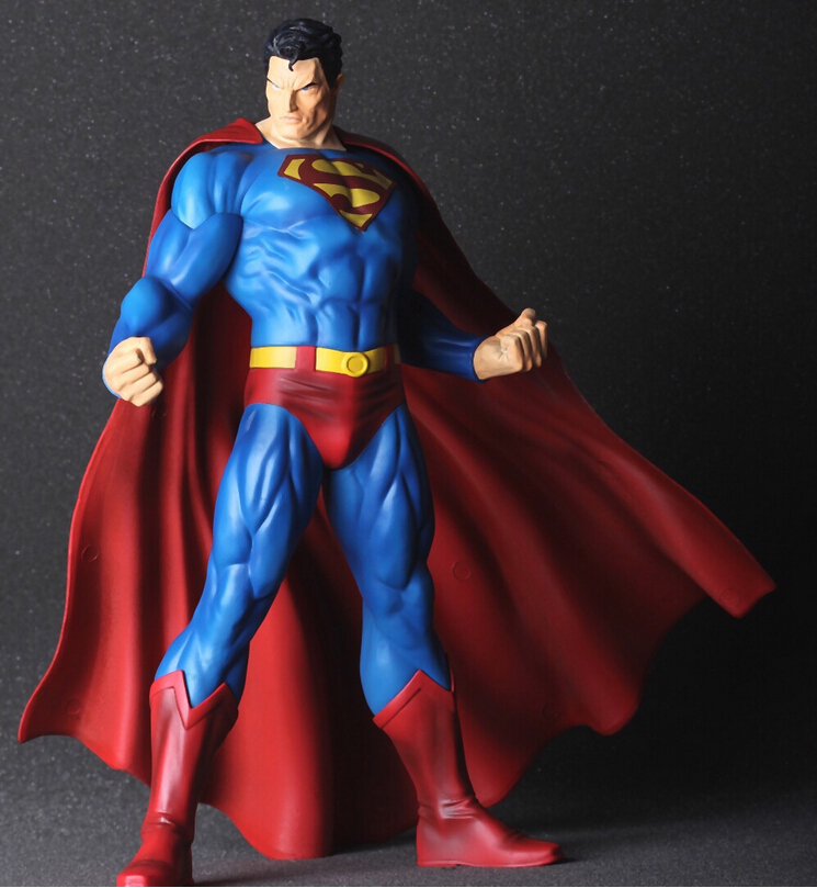 Big size 30cm Superman Action Figures PVC brinquedos Collection Figures toys for christmas gift with Retail box AnnO00280A масляный ременной компрессор