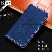 For Xiaomi Mi 8 SE Case Luxury Flip Leather Wallet Book Stand Cover Case for Xiaomi Mi 8 Lite Mi8 Phone Case with Card Slots