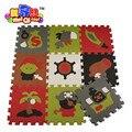 Crianças Capitão Pirata enigma eva puzzle esteira do jogo do bebê tapete macio esteira do jogo da espuma dos desenhos animados de eva, piso pad para jogos infantis tapetes SGS