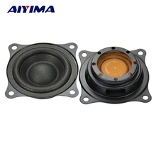 Aiyima 2pcs 2.2 inches Bass Passive Radiator Auxiliary Bass Function