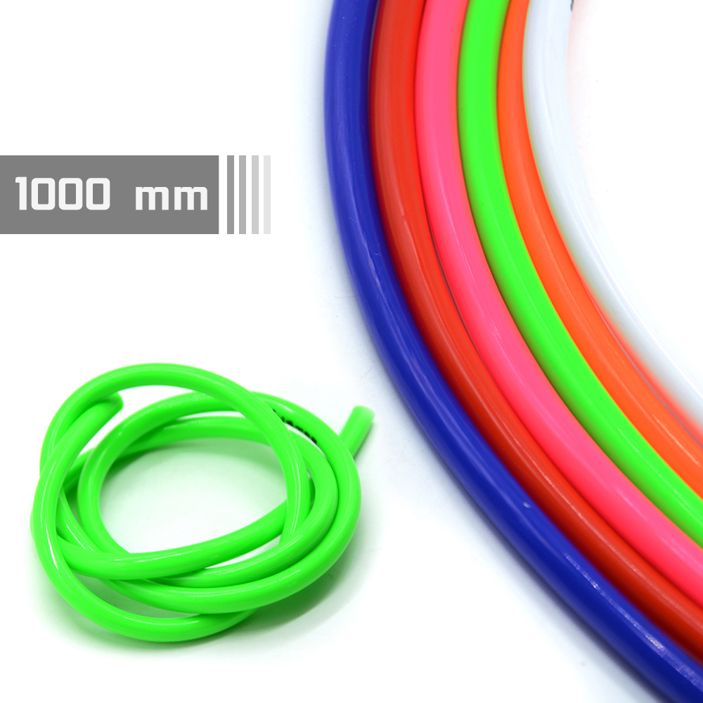 Universal Motorcycle Rubber Fuel Line Hose motocross ATV pit dirt bike off road For <font><b>Honda</b></font> <font><b>CBR</b></font> <font><b>600F</b></font> 600RR 900RR 929RR 1000RR image