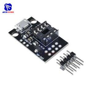 Сменный развития пустышка для ATtiny13A ATtiny25 ATtiny45 ATtiny85 программирования редактор Micro Usb Мощность разъем модуль