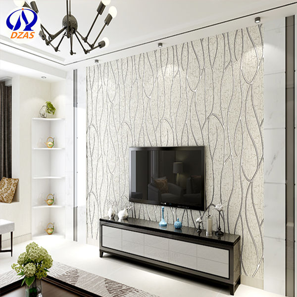 Modern Minimalist Stripe Bedroom Wallpaper, Non Woven 3D Film Wallpaper ZMH  Wall Paper  In Wallpapers From Home Improvement On Aliexpress.com | Alibaba  ...