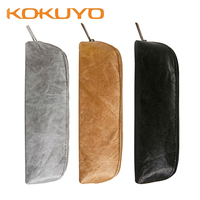 1Pcs Kokuyo SSORT PC-102 Vintage DuPont Paper Pencil Case Student Stationery Pencil Case Waterproof and firm More compartments