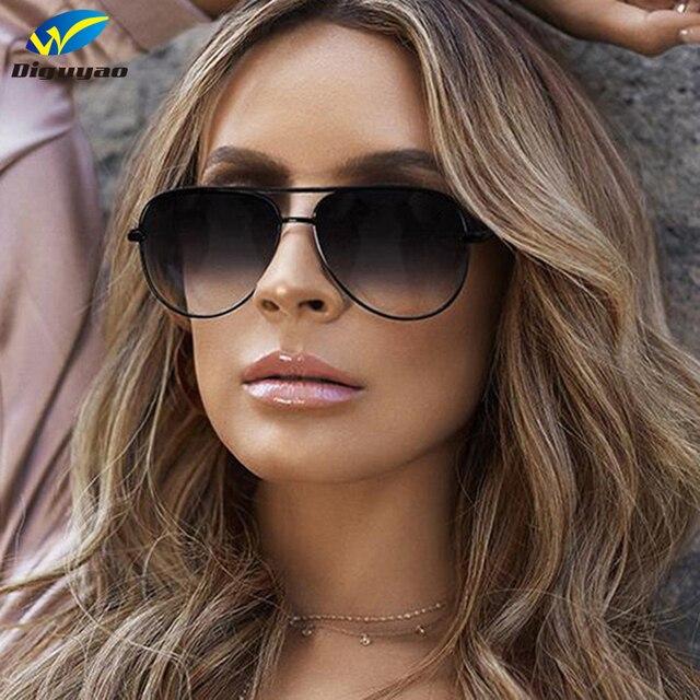 01253ec160c3b DIGUYAO 2018 Clássico Da Moda óculos de sol Das Mulheres Claras Óculos De  Sol Vermelhos homens
