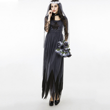 High quality Halloween Cosplay Flower Fairy Vampire Ghost Bride Devil Clothes Female Theme Costume Pumpkin DS Performers Wear