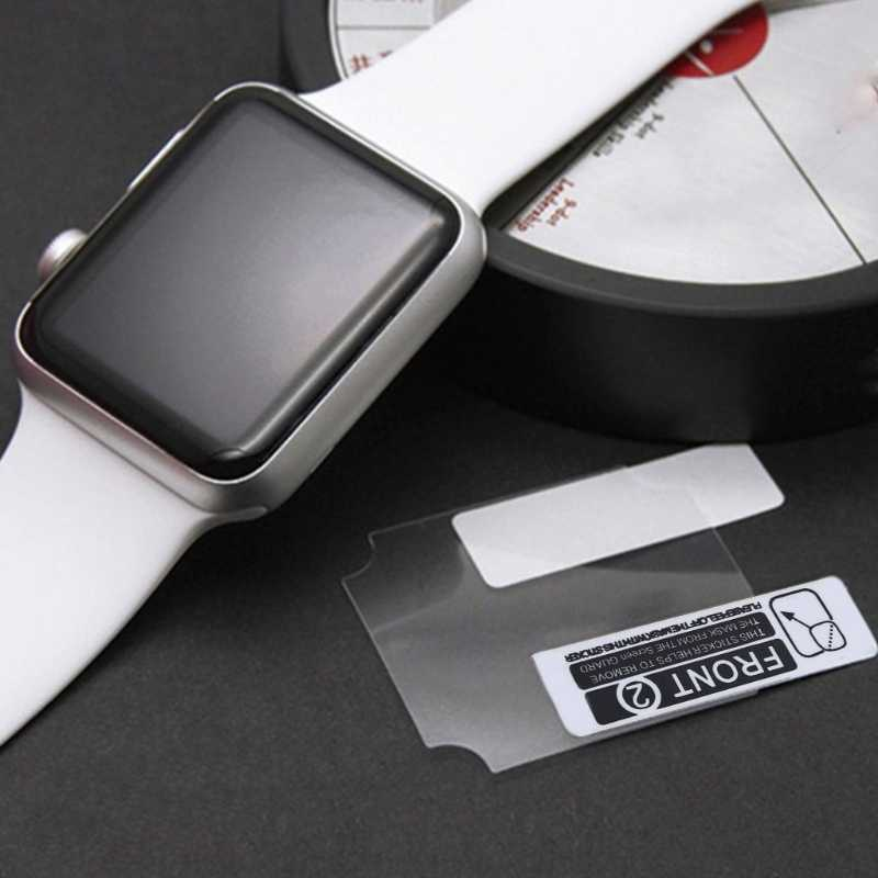Free delivery JAVRICK TPU Protector For Apple iWatch Series 1 2 3 38mm 42mm Smart Watch Head Screen Full Coverage