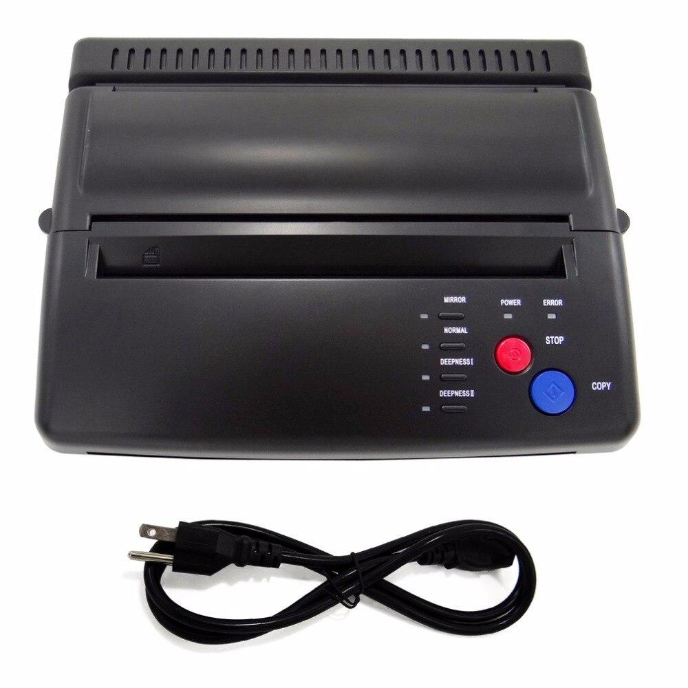 Professionnel De Haute Qualité Machine De Transfert De Tatouage De Tatouage Pochoir Maker Flash Thermique Copieur Imprimante Fournitures UE/US Plug