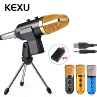 ML F100TL USB Condenser Microphone Professional Microphone for Video Recording Karaoke Radio Studio Microphone for Computer PC