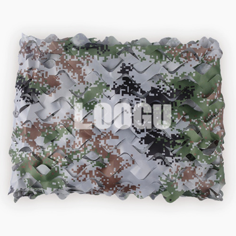 3M 6M Military Sun Shelter Tents 150D Polyester Oxford Camouflage Net Sun Shelter for Camping Hiking