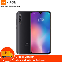 Xiaomi mi 9 4G мобильный телефон Phablet 6,39 ''mi UI10 Qualcomm Snapdragon 855 Octa Core 2,84G 6 GB 128 GB 48MP камера отпечаток пальца